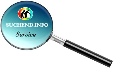 Suchend.info Service